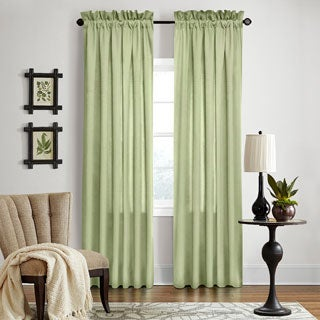 Grand Luxe Sage All Linen Gotham Curtain Panel