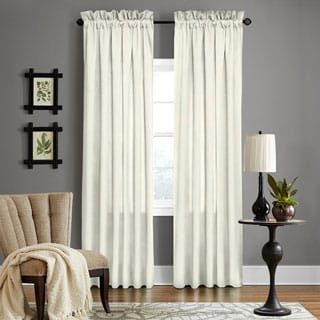 Grand Luxe Pearl Linen Gotham Rod Pocket Panel