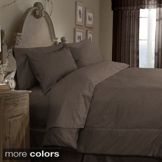 Grand Luxe Egyptian Cotton Sateen 800 Thread Count 4-piece Comforter Set