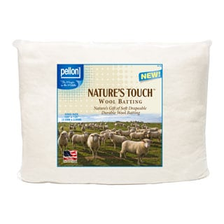 Pellon King-size Natures Touch 120 x 120-inch Wool Batting