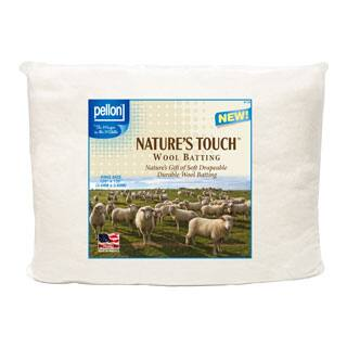 Pellon King-size Natures Touch 120 x 120-inch Wool Batting|https://ak1.ostkcdn.com/images/products/P15315650a.jpg?impolicy=medium