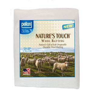 Pellon Full-size Natures Touch 81 x 96-inch Wool Batting