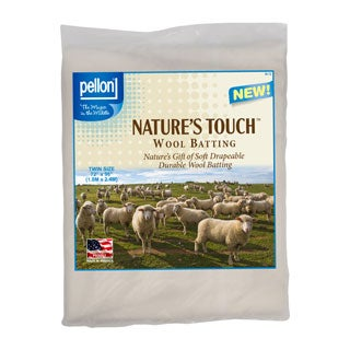 Pellon Twin-size Natures Touch 72 x 90-inch Wool Batting
