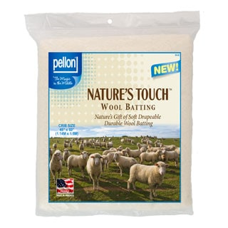 Pellon Crib-size Natures Touch 45 x 60-inch Wool Batting