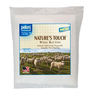 Pellon Throw-size Natures Touch 60 x 60-inch Wool Batting