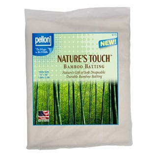 Pellon Twin-size Natures Touch 72 x 90-inch Rayon from Bamboo Blend Batting with Scrim