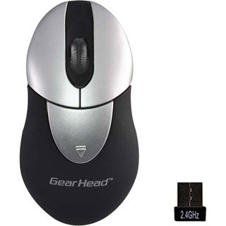 Gear Head 2.4GHz Wireless Optical Mini Mouse (USB)