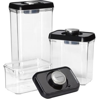 Fresh Edge 6-Piece Vacuum Sealed Food Storage Containers