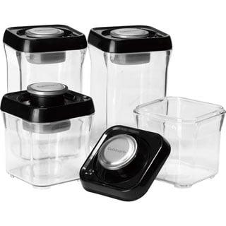 Fresh Edge 8-Piece Vacuum Sealed Food Storage Containers