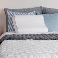 Sealy Memory Foam Contour Pillow - White