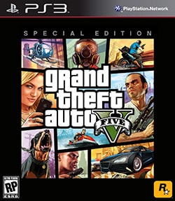 PS3 - Grand Theft Auto V (Special Edition)