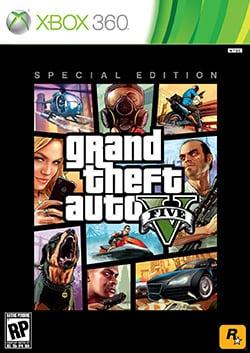 Xbox 360 - Grand Theft Auto V (Special Edition)