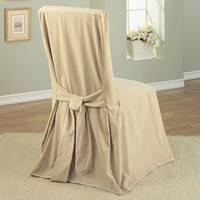 Classic Slipcovers Velvet Dining Chair Slipcover (Set of 2)