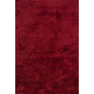 Hand-tufted Ellis Crimson Shag Rug (7'9 x 9'9)