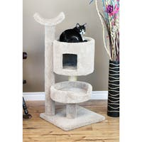 New Cat Condos Carpet/Wood Premier Cat Bungalow Cat Tree