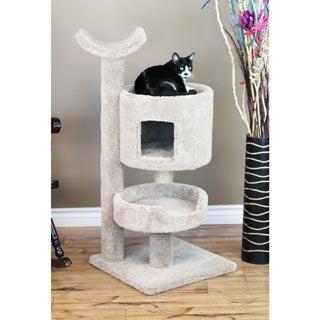 New Cat Condos Carpet/Wood Premier Cat Bungalow Cat Tree