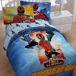 Shop Power Rangers Samurai Twin Size 4 Piece Comforter Set