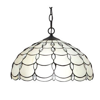 Amora Lighting Tiffany Style Cascades Pendant Lamp