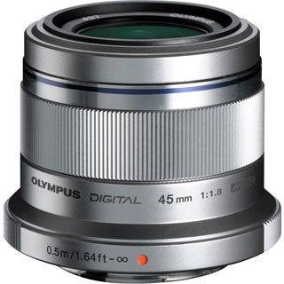 Olympus M.ZUIKO DIGITAL - 45 mm - f/1.8 - Fixed Focal Length Lens for