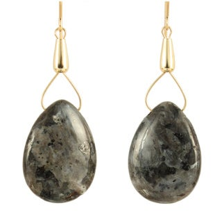 Drops of Labradorite Earrings