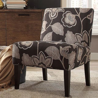 Peterson Floral Accent Slipper Chair by INSPIRE Q