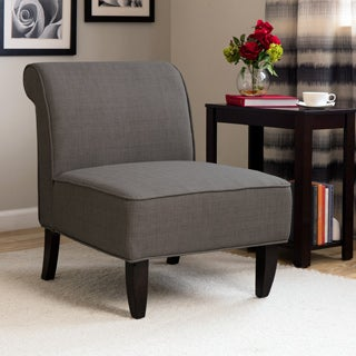 Sadie Slipper Brown Derby Accent Chair