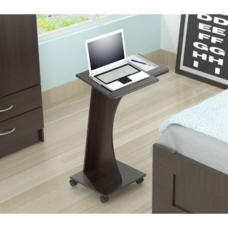 Inval Rolling Laptop Cart