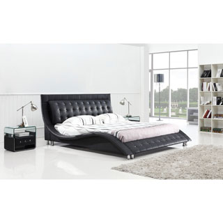 Dublin Queen-size Modern Platform Bed (2 options available)