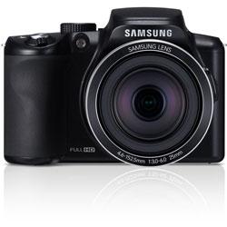 Samsung WB2100 16.4MP Cobalt Black Digital Camera