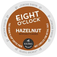 Eight O'Clock Coffee Hazelnut K-Cups for Keurig Brewers