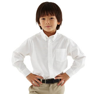 French Toast Boys Long Sleeve Classic Dress Shirt