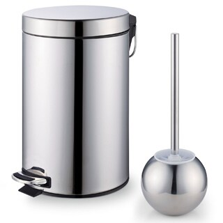 Cook N Home Stainless Steel Step Trash Bin Toilet Brush Set|https://ak1.ostkcdn.com/images/products/P15584715L.jpg?_ostk_perf_=percv&impolicy=medium