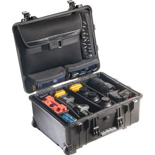 Pelican 1560SC Studio Case (1560LOC with Padded Dividers)