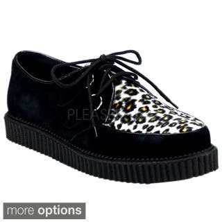 Demonia Men's 'Creeper-600' Animal Print Creeper Shoes|https://ak1.ostkcdn.com/images/products/P15618365L.jpg?impolicy=medium