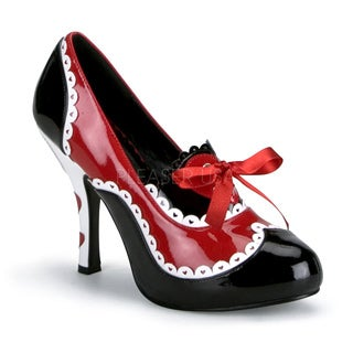 Funtasma Women's 'Queen-03' Patent Queen of Hearts Pumps