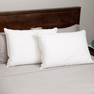 Hotel Madison 400 Thread Count Down Alternative Pillow (Set of 2) - White (2 options available)