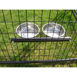 Lucky Dog 8-inch Stationary 2-bowl System