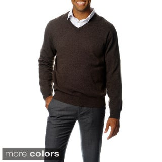 Ply Cashmere Men's V-Neck Sweater