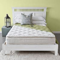 Priage Pillow Top 10-inch King-size iCoil Spring Mattress - WHITE