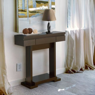 Furniture of America Deacons Modern Cappuccino Console Table