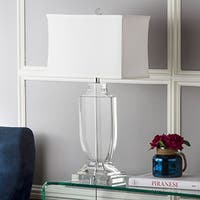 Safavieh Deirdre Clear Glass 26-inch Urn Table Lamp