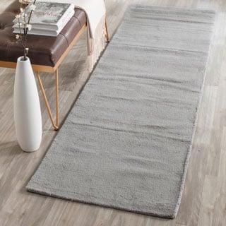Safavieh Hand-loomed Himalaya Grey Wool Rug (2'3 x 6')