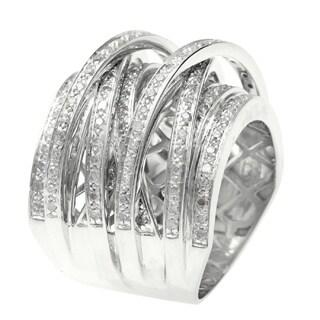 14k Gold Overlay 1ct TDW Multi Row Crossover Diamond Ring https://ak1.ostkcdn.com/images/products/P15675685a.jpg?_ostk_perf_=percv&impolicy=medium