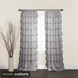 Lush Decor Olivia 84-inch Curtain Panel