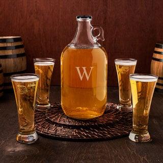 Personalized Craft Beer Growler Tasters Set