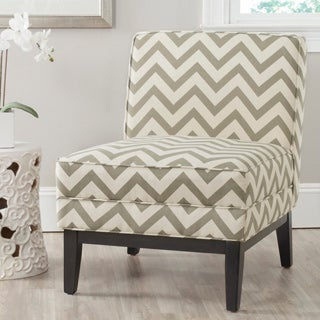 Safavieh Armond Grey/ White Chair
