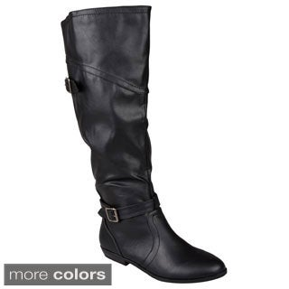 Madden Girl by Steve Madden Women's 'Expertt' Buckle-Strap Riding Boot