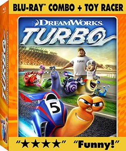 Turbo + Toy Racer (Blu-ray/DVD)