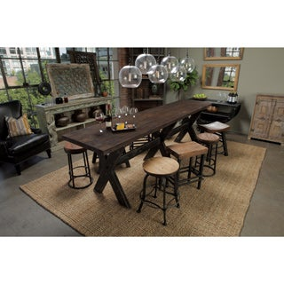 Isabella Reclaimed Wood Gathering Table by Kosas Home