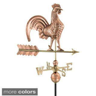 Polished Copper 25-inch Rooster Weathervane